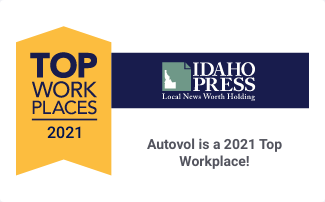Autovol named a US Top Workplace—ranked in Top 10 Idaho small businesses